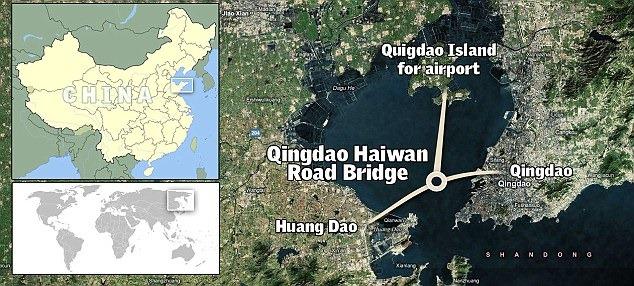 أطول جسر مائي في العالم